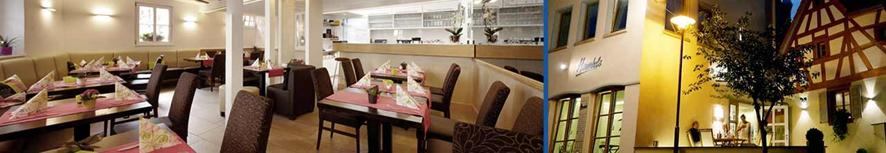 Hambels Restaurant mit leckeren Pfälzer Spezialitäten aus Wachenheim