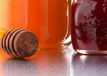 Honig, Gelee und Konfitüre