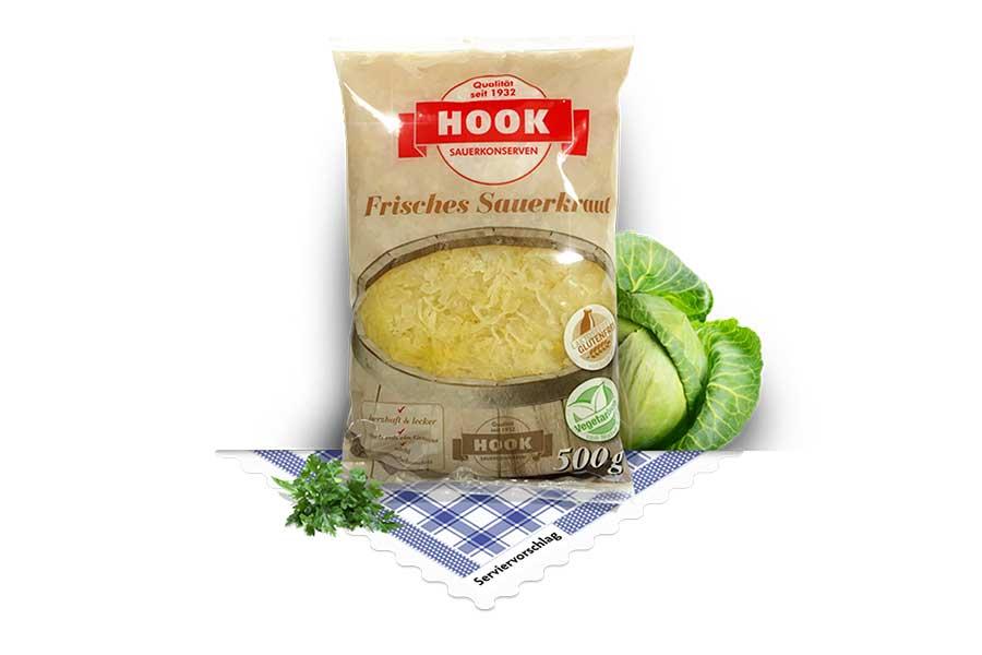 Sauerkraut roh
