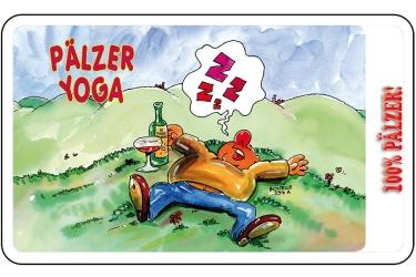 Frühstücksbrettchen - Pälzer Yoga -