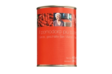 Ganze Tomaten, geschält