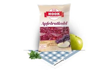 Apfelrotkohl