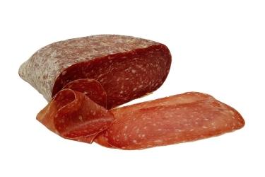 Magere und weiche Salami mit mildem und delikatem Geschmack.