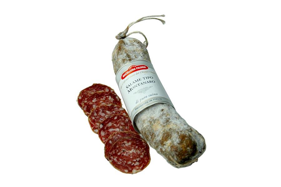 Salami Montanaro - eine Bergsalami mit einem Schuss Chianti
