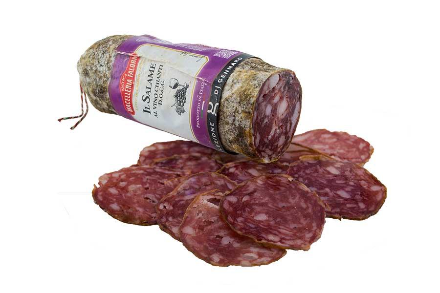 Salami al Chianti Classico - eine würzig, aromatische Spezialität